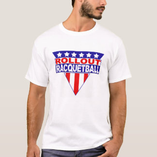ROLLOUT Gladiatorracquetball-T-Shirt T-Shirt