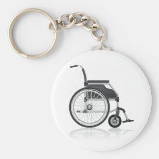 Rollstuhl Keychain Schlüsselanhänger