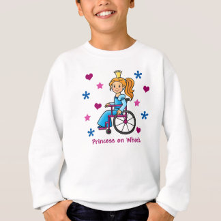 Rollstuhl-Prinzessin Sweatshirt