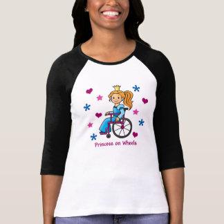 Rollstuhl-Prinzessin T-Shirt