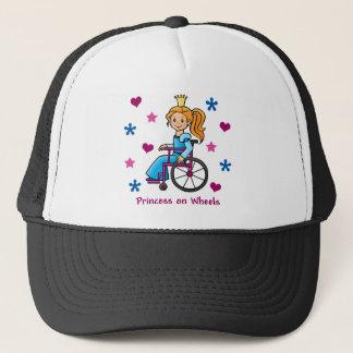Rollstuhl-Prinzessin Truckerkappe