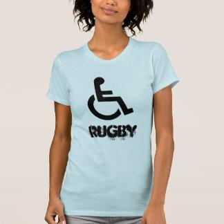 Rollstuhl-Rugby Murderball Sport-Shirt T-Shirt