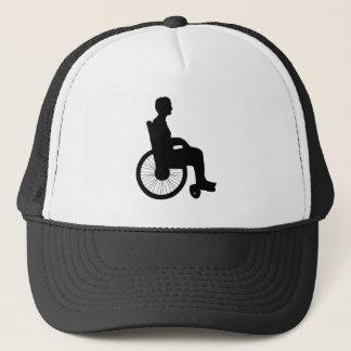Rollstuhl Truckerkappe
