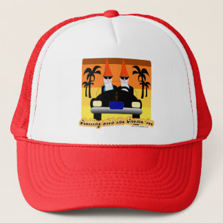 Rollten mit dem Gnom-IES Truckerkappe