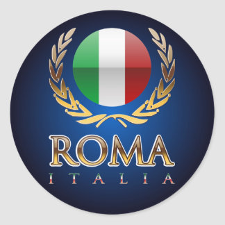 Rom Runder Sticker
