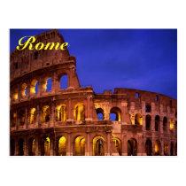 Rom colosseum Postkarte