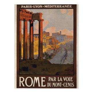 Rom durch das Mont-Cenis Postkarte