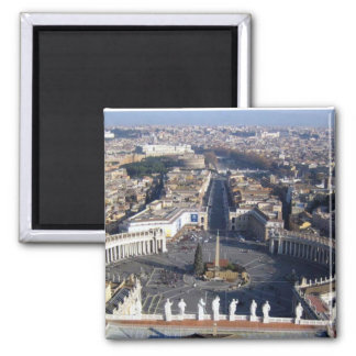 Rom-Heiliges peters Basilikamagnet Quadratischer Magnet