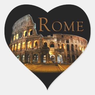 Rom Herz-Aufkleber