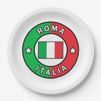 Rom Italien Pappteller