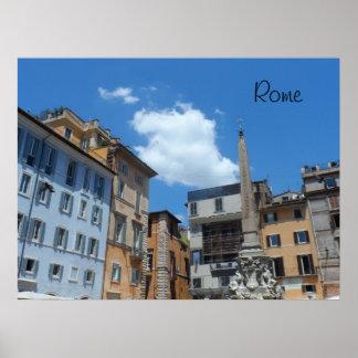 Rom, Italien Poster