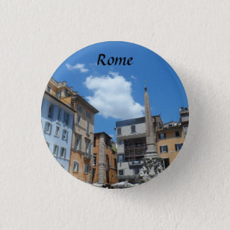 Rom, Italien Runder Button 2,5 Cm