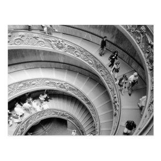 Rom Italien, Vatikan Treppenhaus 2 Postkarte