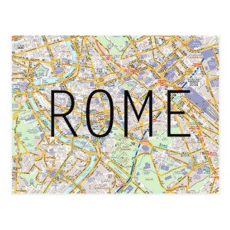 Rom-Kartenkarte Postkarte