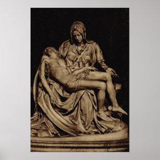 Rom, Michelangelo, Pieta Poster
