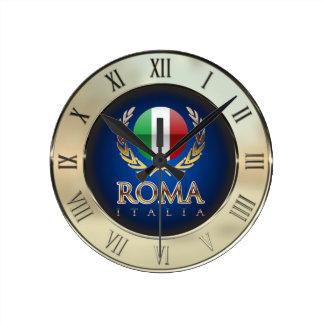 Rom Runde Wanduhr