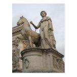 Rom-Statue Postkarten