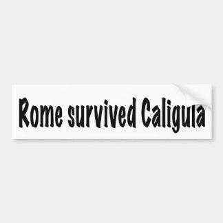 Rom überlebte Caligula Autoaufkleber