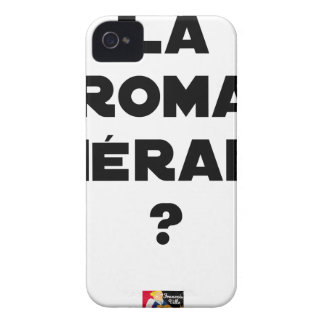 ROMA THERAPIE? - Wortspiele - Francois Ville iPhone 4 Hüllen