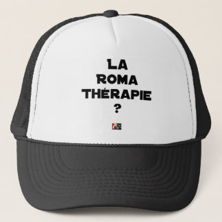 ROMA THERAPIE? - Wortspiele - Francois Ville Truckerkappe