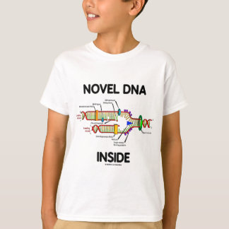 Roman DNA-Innere (Molekularbiologie-Spaß) T-Shirt
