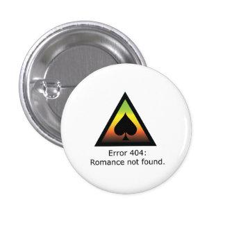 Romance 404 runder button 3,2 cm