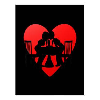 Romance Postkarte