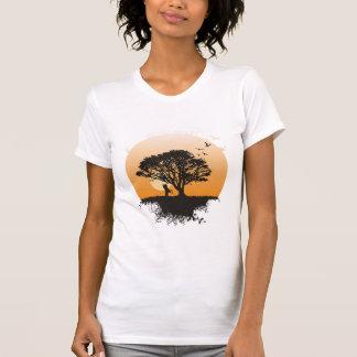 Romance tree t shirt
