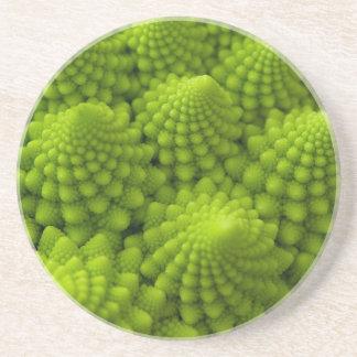 Romanesco Brokkoli-Fraktal-Gemüse Getränkeuntersetzer