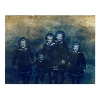 Romanov-Kinder Postkarte