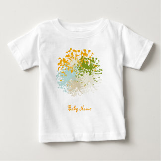 Romantic Flower Baby T-shirt
