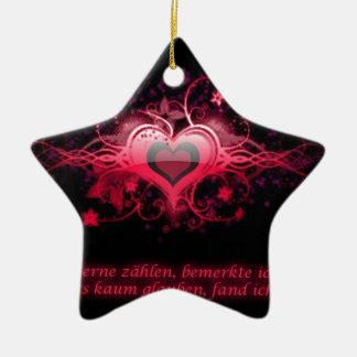 Romantik in Pink Keramik Ornament