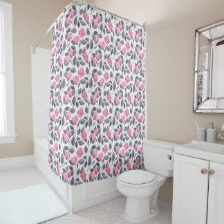 Romantische Blumen 1 Duschvorhang