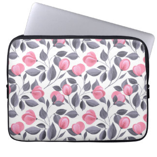 Romantische Blumen 1 Laptop Sleeve