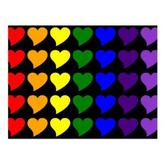Romantische Geschenke für Mädchen: Ein Regenbogen Postkarte