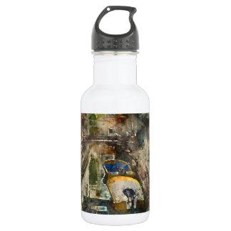 Romantische Kanäle von Aquarell Venedigs Italien Edelstahlflasche