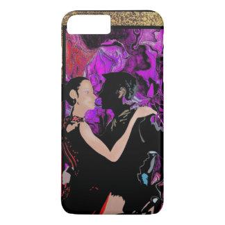 Romantische Kunst-Dekoarttänzer iPhone 8 Plus/7 Plus Hülle