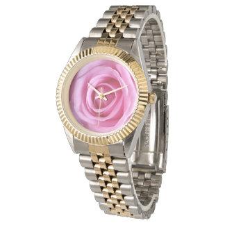 Romantische Liebe-süße weiche rosa Armbanduhr