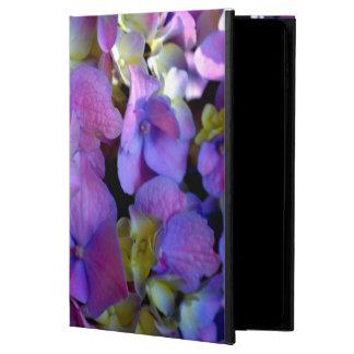 Romantische lila Hydrangeas