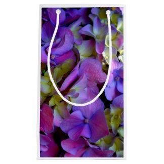 Romantische lila Hydrangeas Kleine Geschenktüte