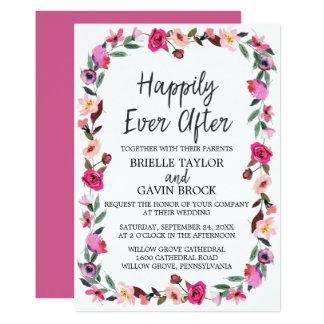 Romantische Märchen glücklich seitdem Wedding Karte