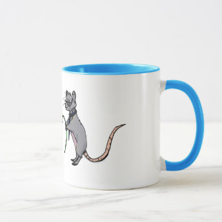 Romantische Mäuse Tasse