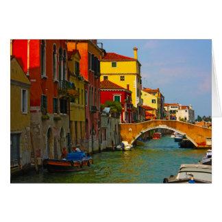 Romantische Plätze in Venedig Karte