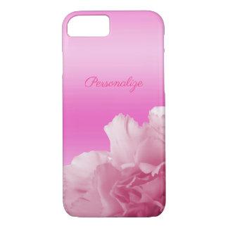 Romantische rosa Gartennelke iPhone 8/7 Hülle