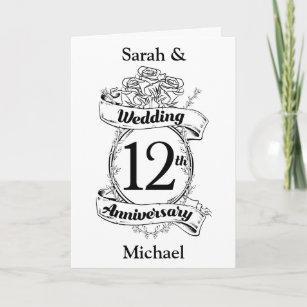 Hochzeitstag 12 Hochzeitstag