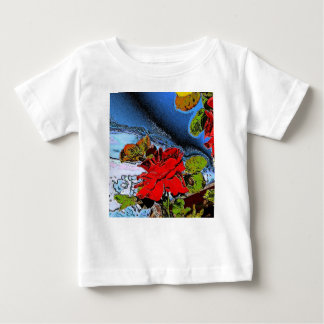 Romantische Rose Baby T-shirt