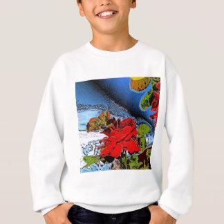 Romantische Rose Sweatshirt