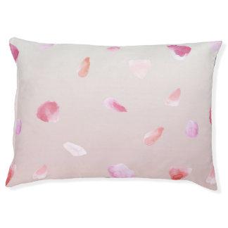Romantische Rosen-Blumenblätter Haustierbett