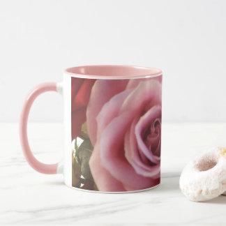 Romantische Rosen-Kaffee-Tasse für sie Tasse