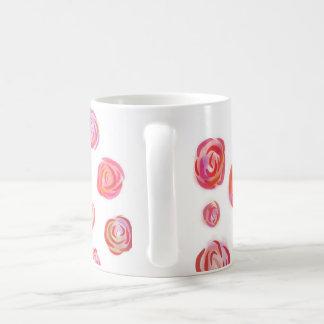 Romantische Rosen-Tasse Kaffeetasse